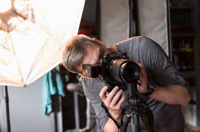 Fotostudio i Attefallshus